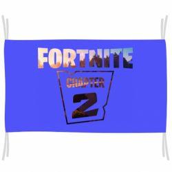 Флаг Fortnite text chapter 2