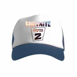 Детская кепка-тракер Fortnite text chapter 2