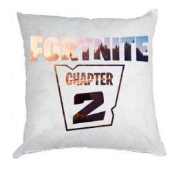 Подушка Fortnite text chapter 2
