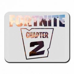 Коврик для мыши Fortnite text chapter 2