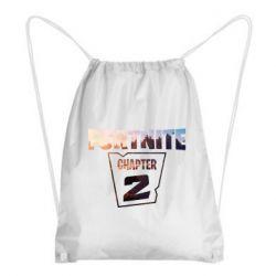 Рюкзак-мешок Fortnite text chapter 2