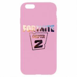 Чехол для iPhone 6 Plus/6S Plus Fortnite text chapter 2