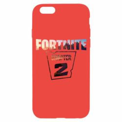 Чехол для iPhone 6/6S Fortnite text chapter 2