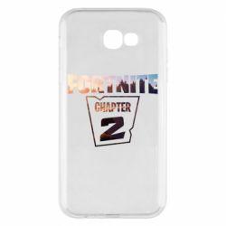 Чехол для Samsung A7 2017 Fortnite text chapter 2