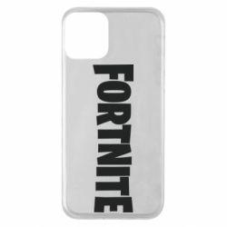 Чохол для iPhone 11 Fortnite text