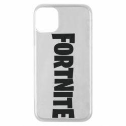Чохол для iPhone 11 Pro Fortnite text