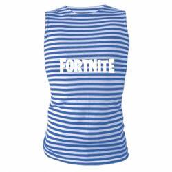 Майка-тільняшка Fortnite text