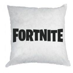 Подушка Fortnite text