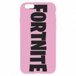 Чохол для iPhone 6 Plus/6S Plus Fortnite text