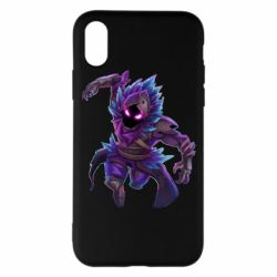 Чохол для iPhone X/Xs Fortnite the Raven