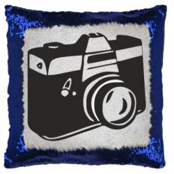 Подушка-хамелеон Фотоапарат