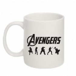 Кружка 320ml Four Avengers - FatLine
