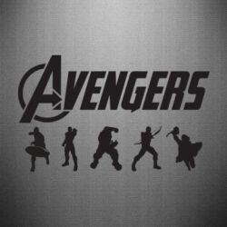 Наклейка Four Avengers - FatLine