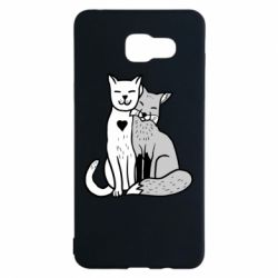 Чохол для Samsung A5 2016 Fox and cat heart
