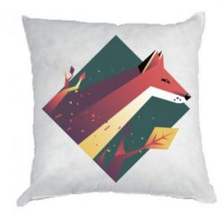 Подушка Fox Art Minimalism