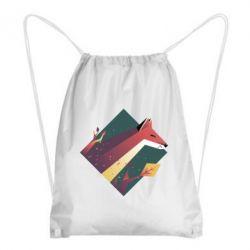 Рюкзак-мішок Fox Art Minimalism