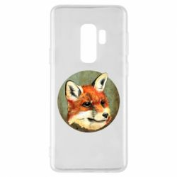 Чехол для Samsung S9+ Fox Art - FatLine