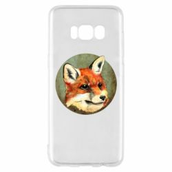 Чехол для Samsung S8 Fox Art - FatLine