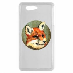 Чехол для Sony Xperia Z3 mini Fox Art - FatLine