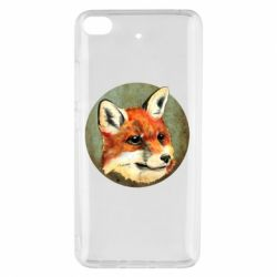 Чехол для Xiaomi Mi 5s Fox Art - FatLine