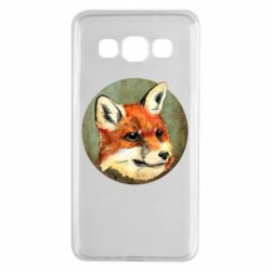 Чехол для Samsung A3 2015 Fox Art - FatLine