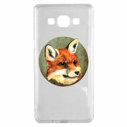 Чехол для Samsung A5 2015 Fox Art - FatLine