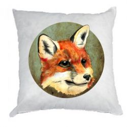 Подушка Fox Art - FatLine