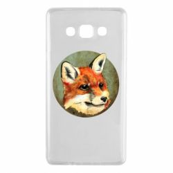 Чехол для Samsung A7 2015 Fox Art - FatLine