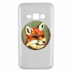 Чехол для Samsung J1 2016 Fox Art - FatLine
