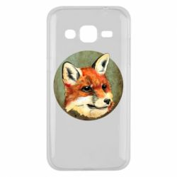 Чехол для Samsung J2 2015 Fox Art - FatLine