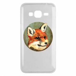 Чехол для Samsung J3 2016 Fox Art - FatLine
