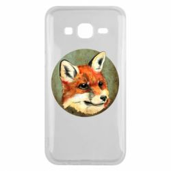Чехол для Samsung J5 2015 Fox Art - FatLine