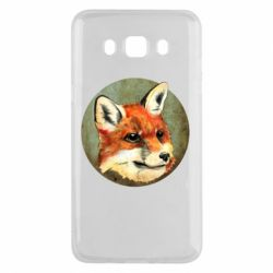 Чехол для Samsung J5 2016 Fox Art - FatLine