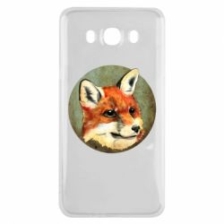 Чехол для Samsung J7 2016 Fox Art - FatLine