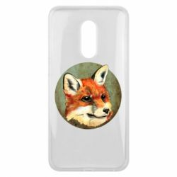 Чехол для Meizu 16 plus Fox Art - FatLine