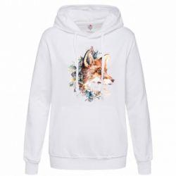 Женская толстовка Fox Art