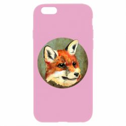 Чехол для iPhone 6/6S Fox Art - FatLine