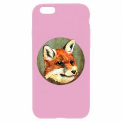 Чехол для iPhone 6 Plus/6S Plus Fox Art - FatLine