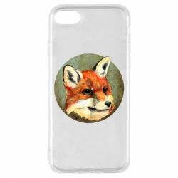 Чехол для iPhone 8 Fox Art - FatLine