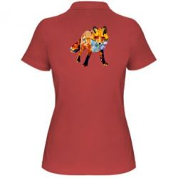 Жіноча футболка поло Fox broken