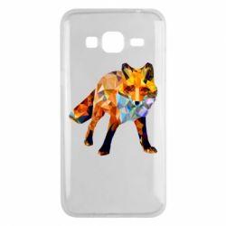 Чохол для Samsung J3 2016 Fox broken