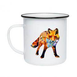 Кружка емальована Fox broken