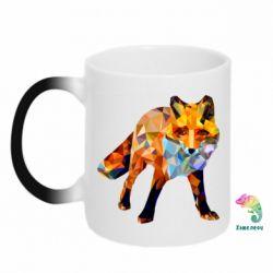 Кружка-хамелеон Fox broken