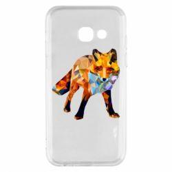 Чохол для Samsung A3 2017 Fox broken