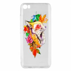 Чехол для Xiaomi Mi5/Mi5 Pro Fox in autumn leaves