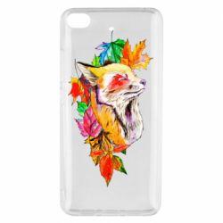 Чехол для Xiaomi Mi 5s Fox in autumn leaves