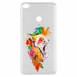 Чехол для Xiaomi Mi Max 2 Fox in autumn leaves