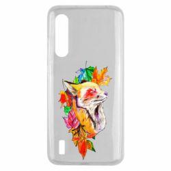 Чехол для Xiaomi Mi9 Lite Fox in autumn leaves