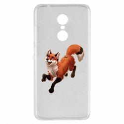Чехол для Xiaomi Redmi 5 Fox in flight