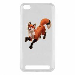 Чехол для Xiaomi Redmi 5a Fox in flight